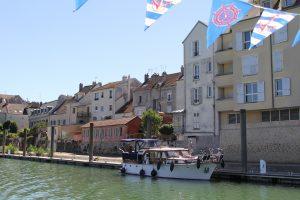 Hamte fluviale de l'office de tourisme de Marne et gondoire à Lagny Sur Marne